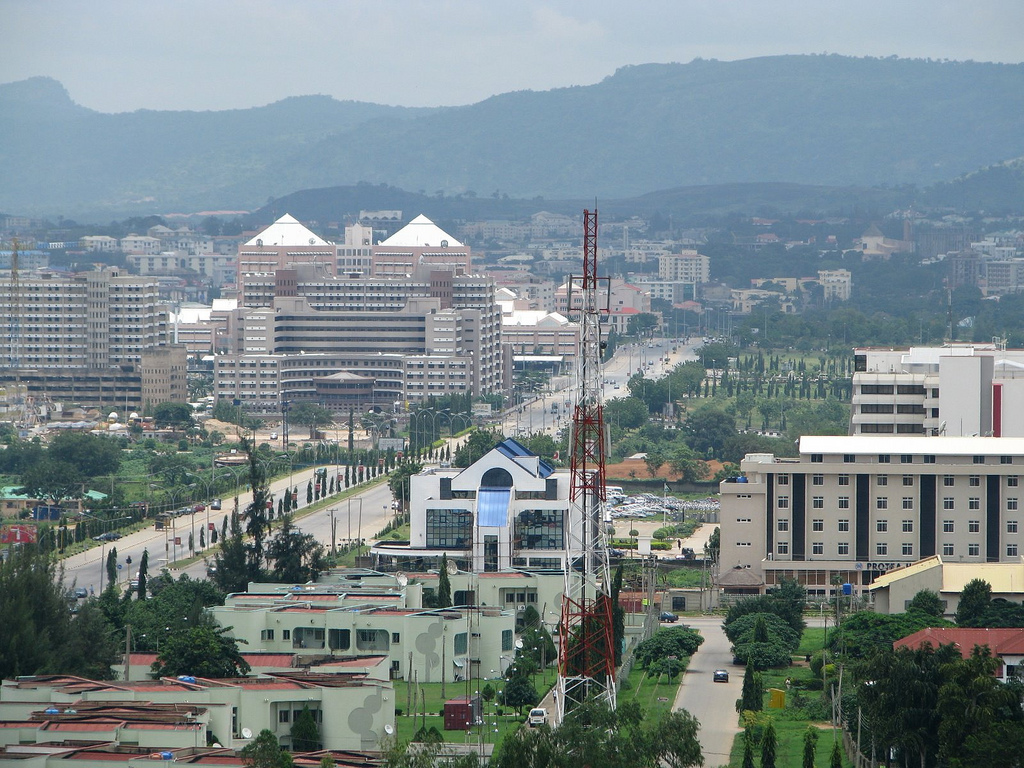 Abuja niger City A Section of the Abuja Central