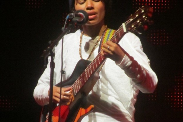Nneka at the Gnaoua Festival in Morocco, June 2013