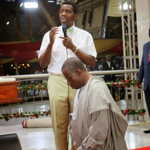 GEJ with Oyedepo